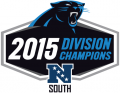 Carolina Panthers 2015 Champion Logo iron on transfer