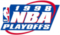 NBA Playoffs 1997-1998 iron on transfer