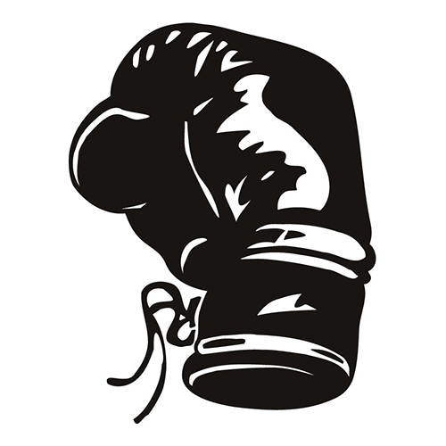 Boxing Glove - $2.00 : irononsticker.net