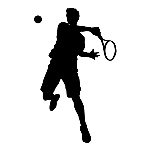 Jumping Hit Tennis Mens