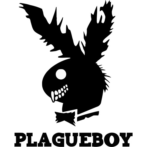 When playboy become devil Fabric heat transfer