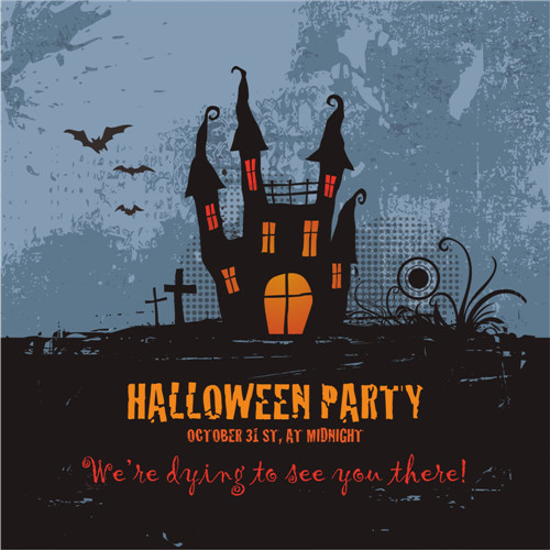 Halloween party shirt DIY decals stickers 2