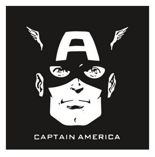 Captain America DIY iron on stickers (heat transfer) 14