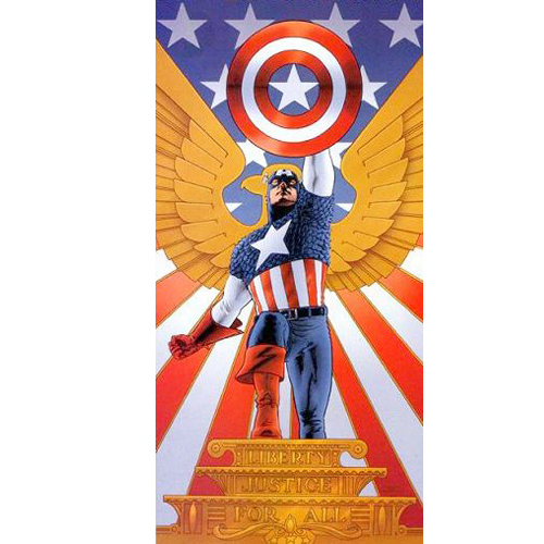 Captain America DIY iron on stickers (heat transfer) 17