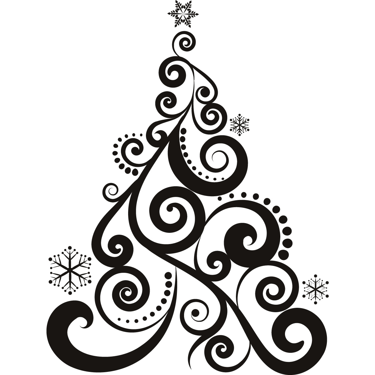 Personalized christmas decoration heat transfer decal 17 for Decoration drawing