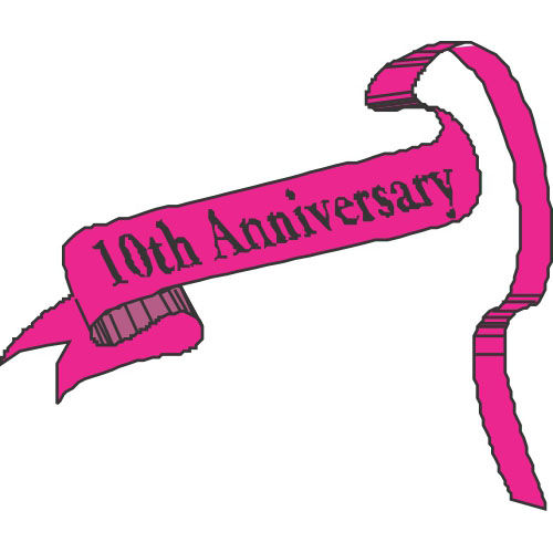 Anniversary Decals Stickers