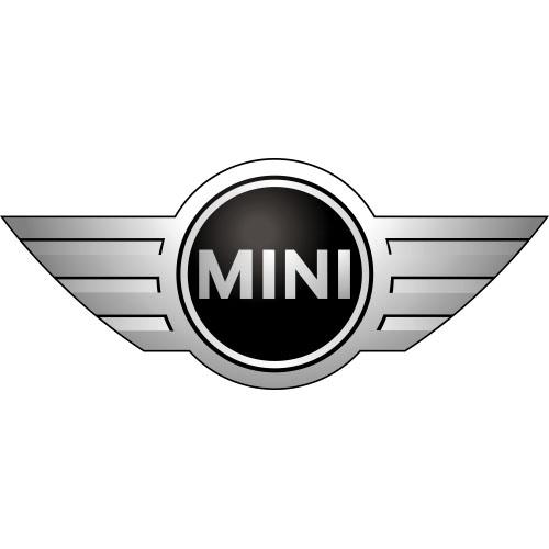 Mini cooper logo iron on sticker loading zoom