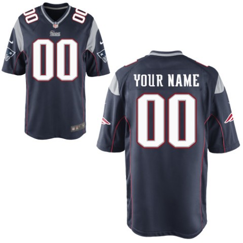 New England Patriots Custom Letter and Number Kits For New Team Color Jersey