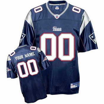 New England Patriots Custom Letter and Number Kits For Team Color Jersey