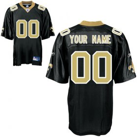 New Orleans Saints Custom Letter and Number Kits For Team Color Jersey