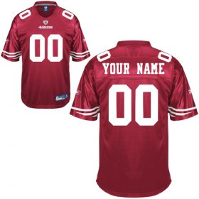 San Francisco 49ers Custom Letter and Number Kits For Team Color Jersey