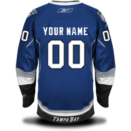 Custom Letter and Number Kits for Third Jersey