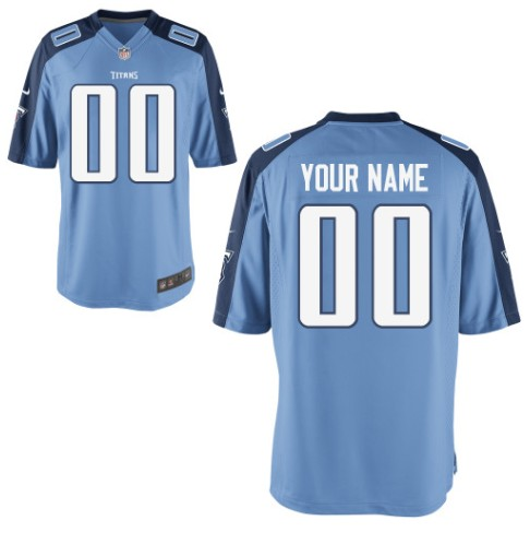 Tennessee Titans Custom Letter and Number Kits For New Team Color Jersey